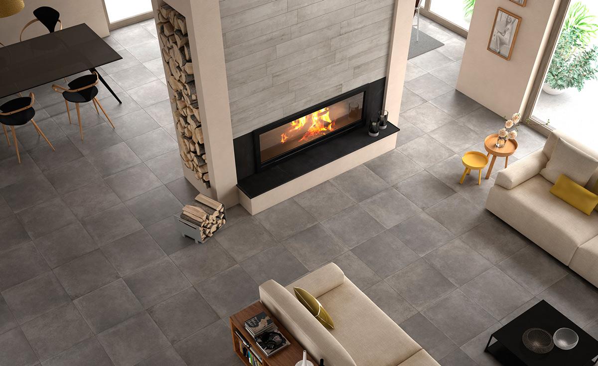 moderne fliesen in betonoptik. Black Bedroom Furniture Sets. Home Design Ideas