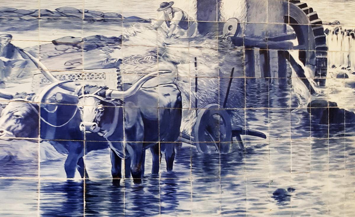 Azulejos: Portugiesische Fliesen