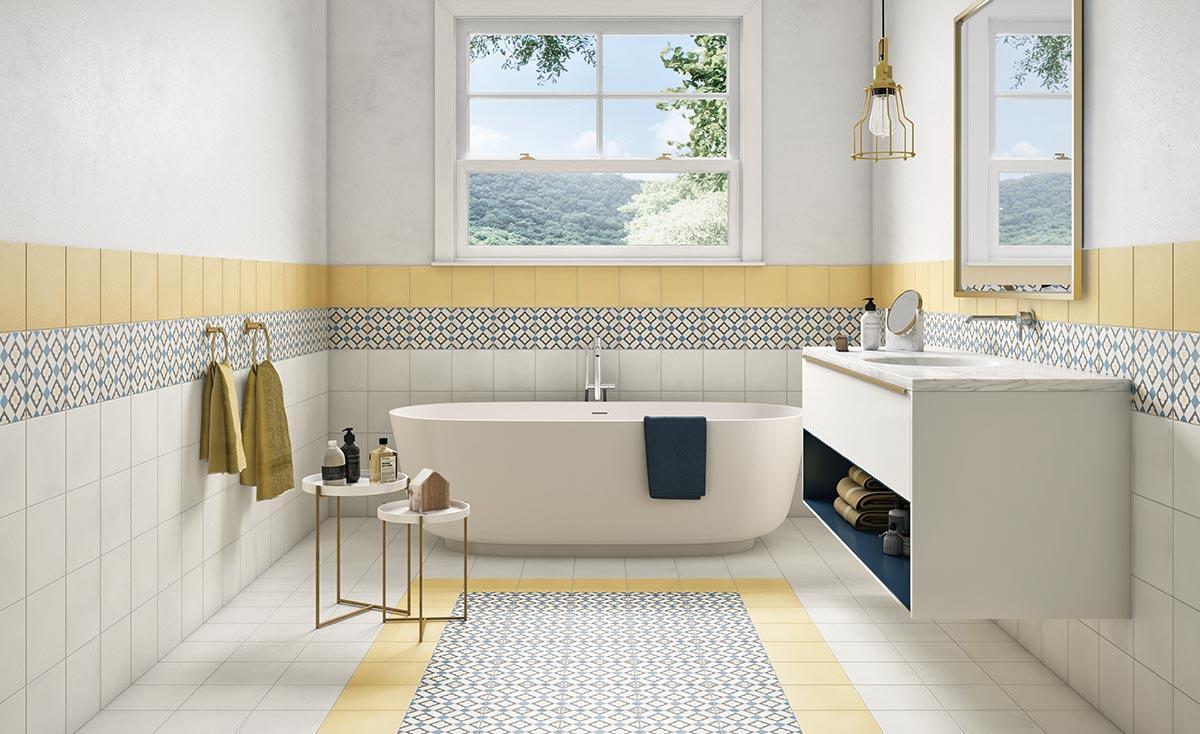 fliesen zementoptik. Black Bedroom Furniture Sets. Home Design Ideas